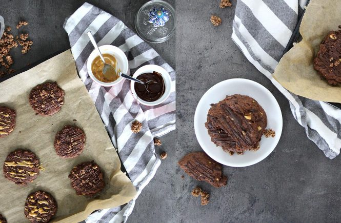 Erdnuss-Schokoladencookies