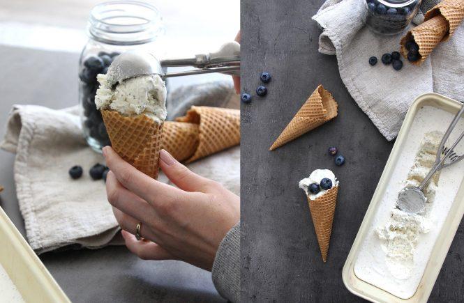 Mohn-Marzipan-Eis ohne Eismaschine