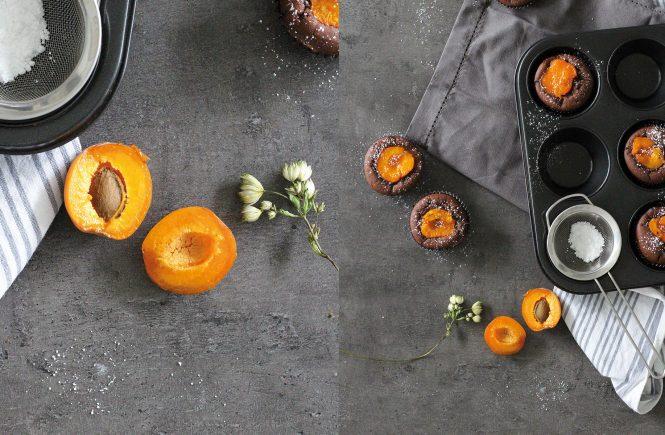 Schokoladen-Aprikosenmuffins