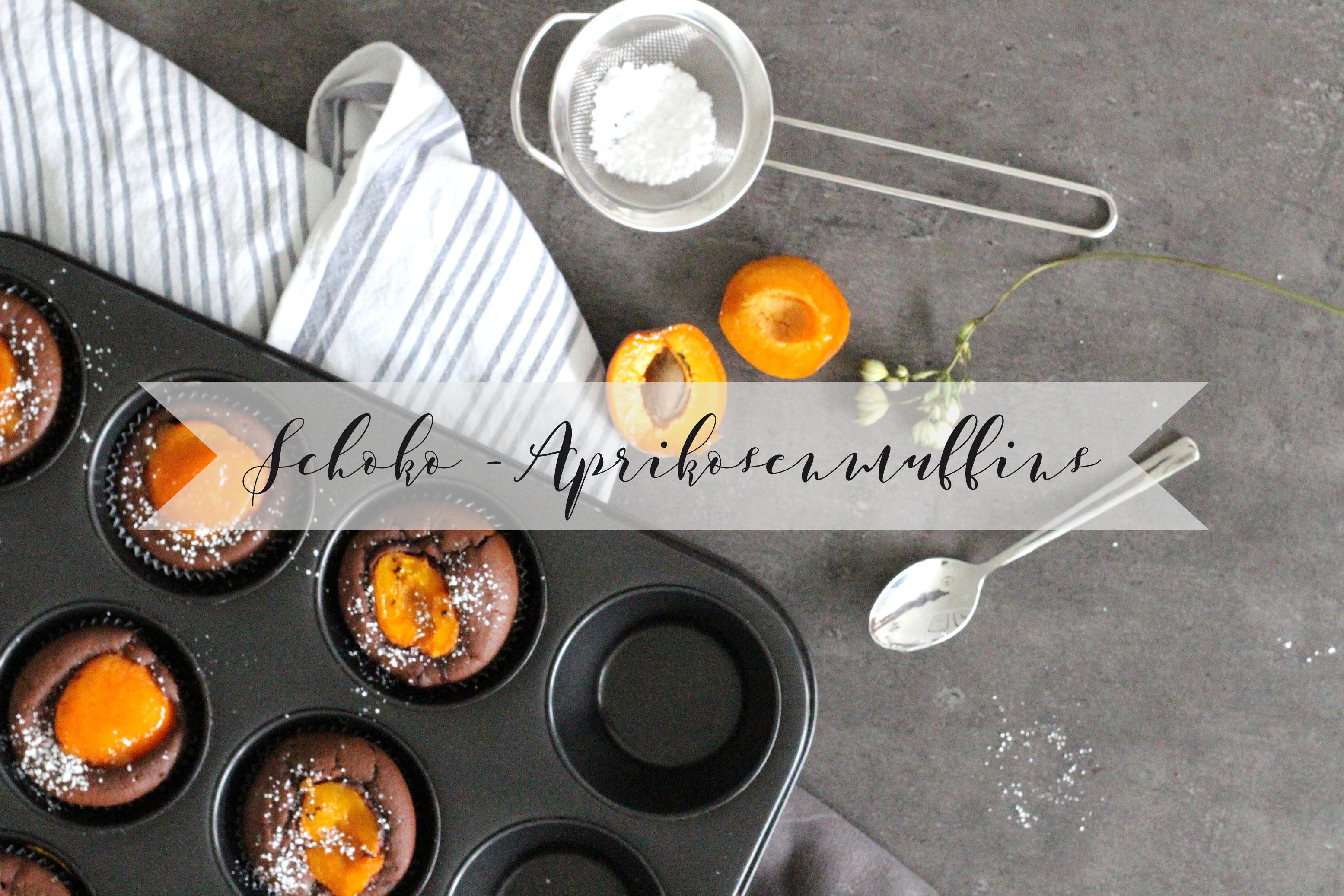 Schoko-Aprikosenmuffins
