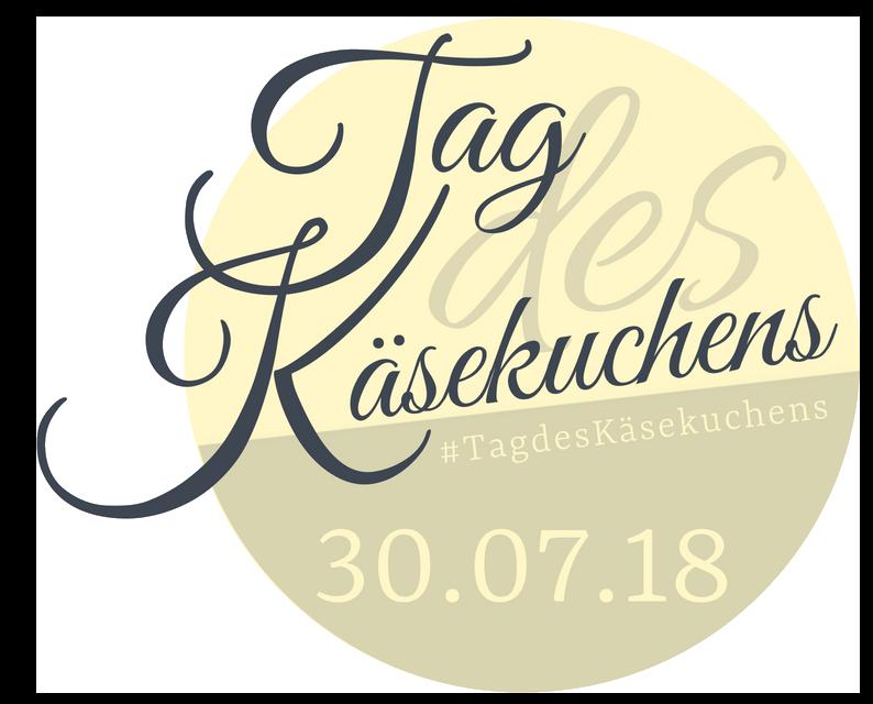 Banner Tag des Käsekuchens