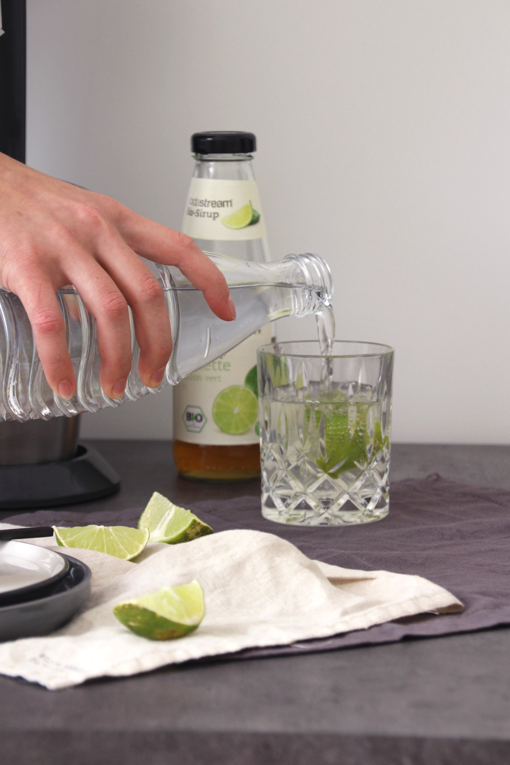 Limonade selber machen mit SodaStream