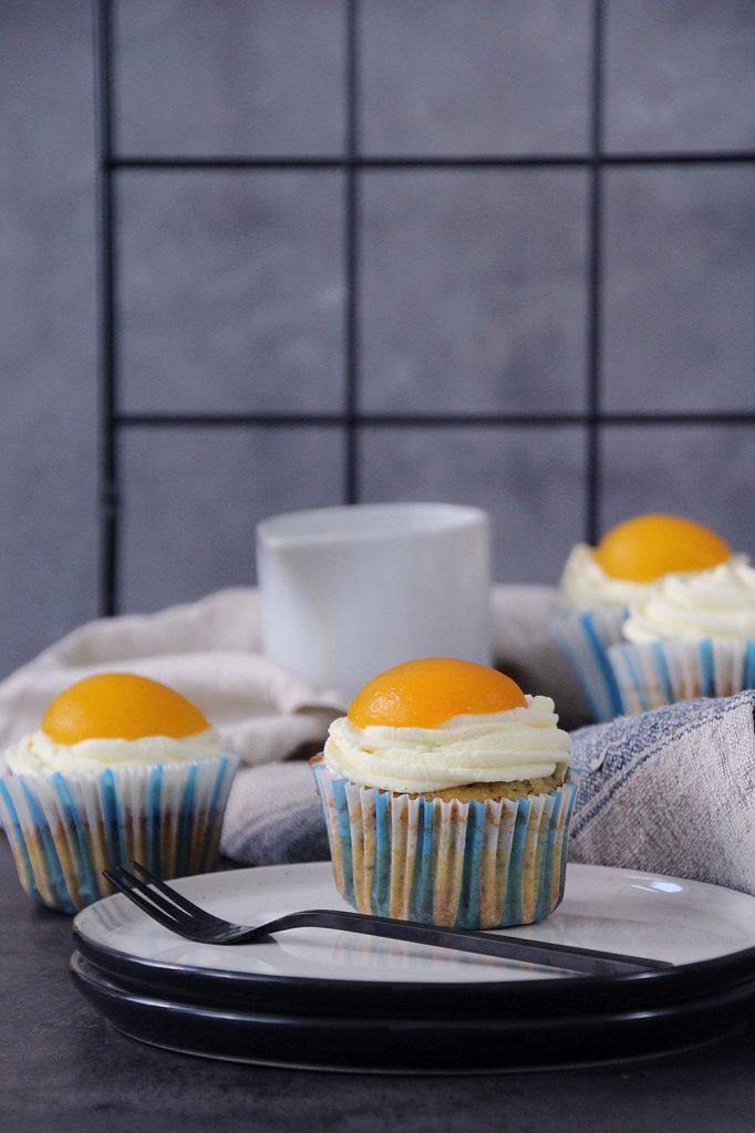 Ostermuffins Spiegeleimuffin Ostercupcakes