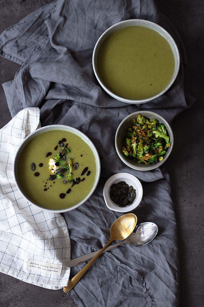 Rezept für Brokkolicremesuppe