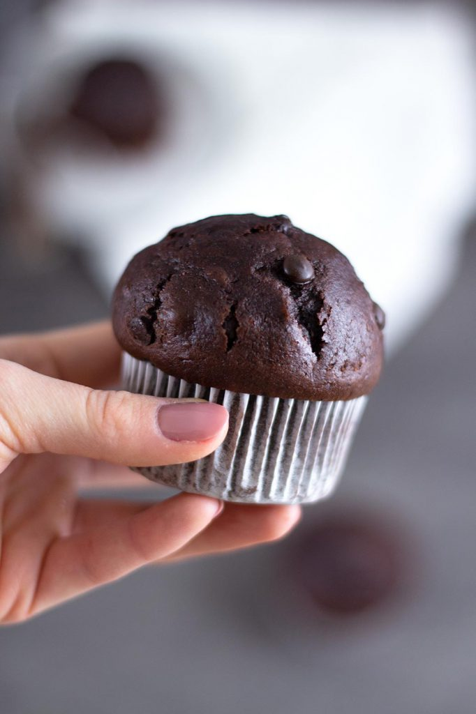 Double Chocolate Chip Muffins – Rezept für die besten Schokolademuffins