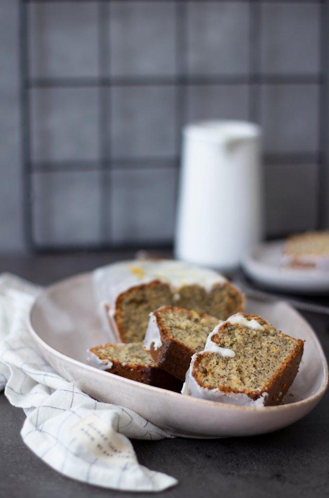 Rezept für gesünderen Zitronen-Mohnkuchen