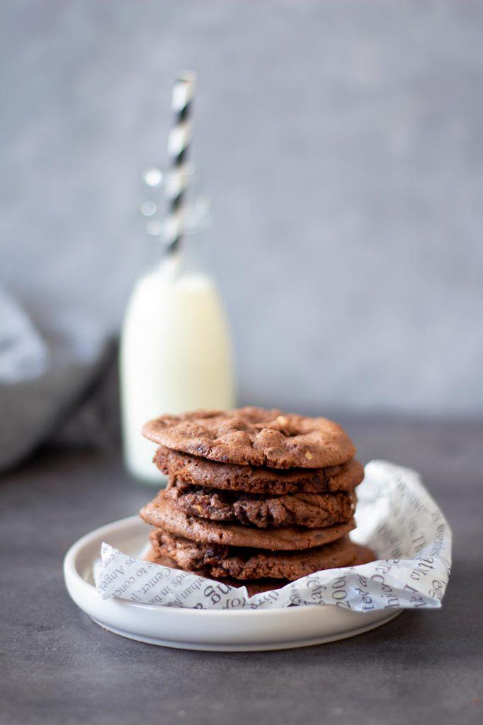 Soft Schokocookies wie von Subway: Rezept für Ovomaltine Crunchy Cookies