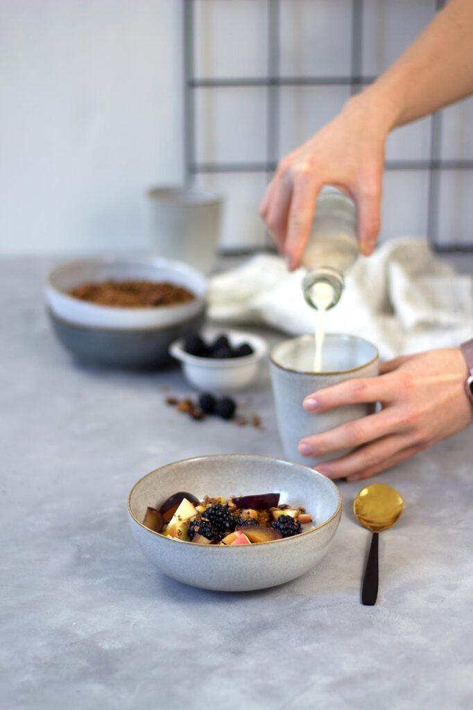 Rezept für Dattel-Zimt-Granola